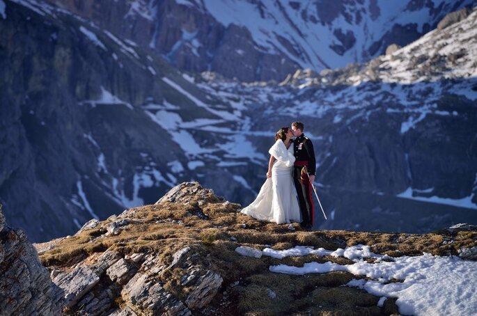 Wedding in Cortina