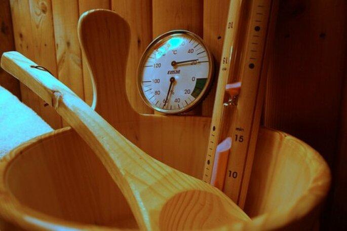 Eine schöne Infrarotsauna sorgt für Entspannung pur. Foto: Flickr – Comedy Nose