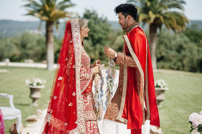 Cérémonie religieuse organisée par une wedding planner