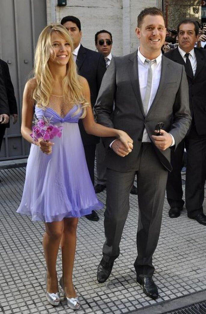 Analizamos paso a paso el look de boda de Luisana