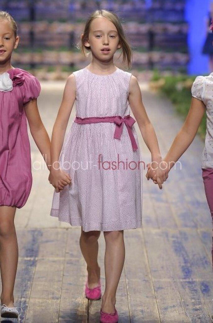 Farbenfroh ist die Kindermoden-Kollektion von Il Gufo – Foto: Il Gufo