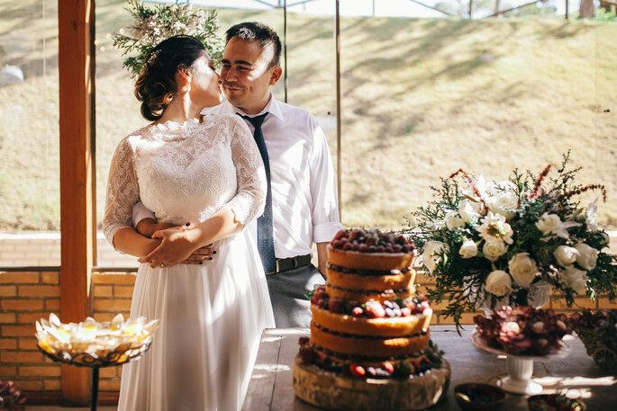 Casamento rústico no campo em Ibiúna, SP