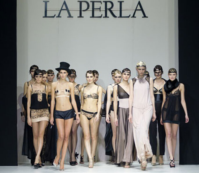 La Perla Dessous - Modenschau bei der Moskau Fashion Week