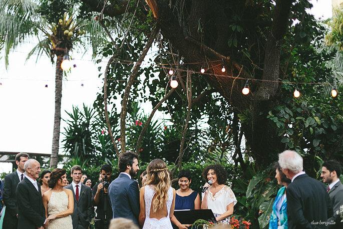 cerimônia casamento rústico chic