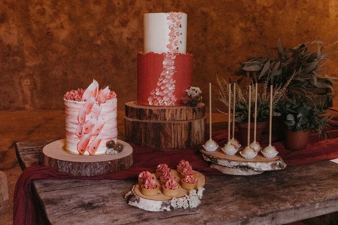Mesa dulce para boda boho chic- Redulce Mallorca