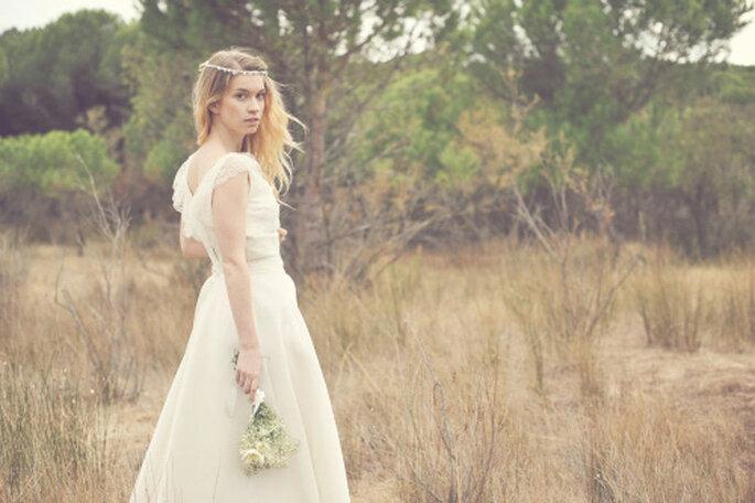 Robe de mariée - Odile Léonard 2012