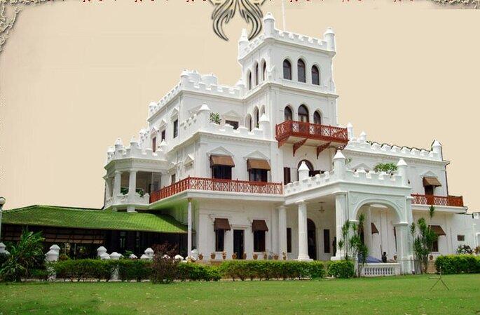 Photo: Jayamahal Palace.
