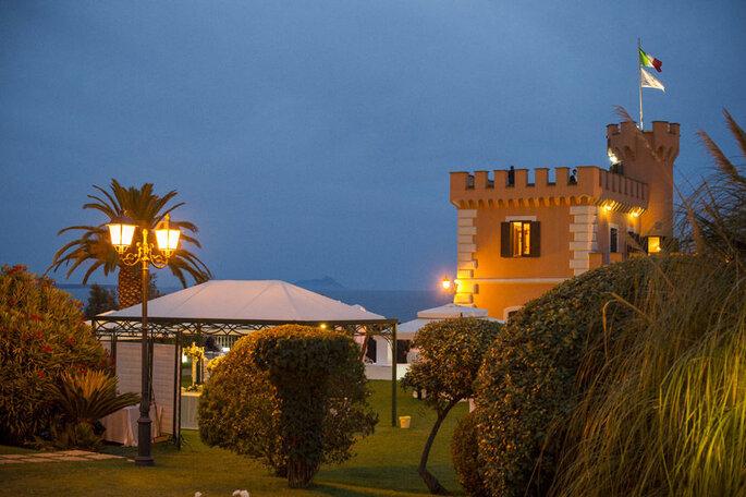 Le Castello Borghese - Lieu de réception de mariage - Italie
