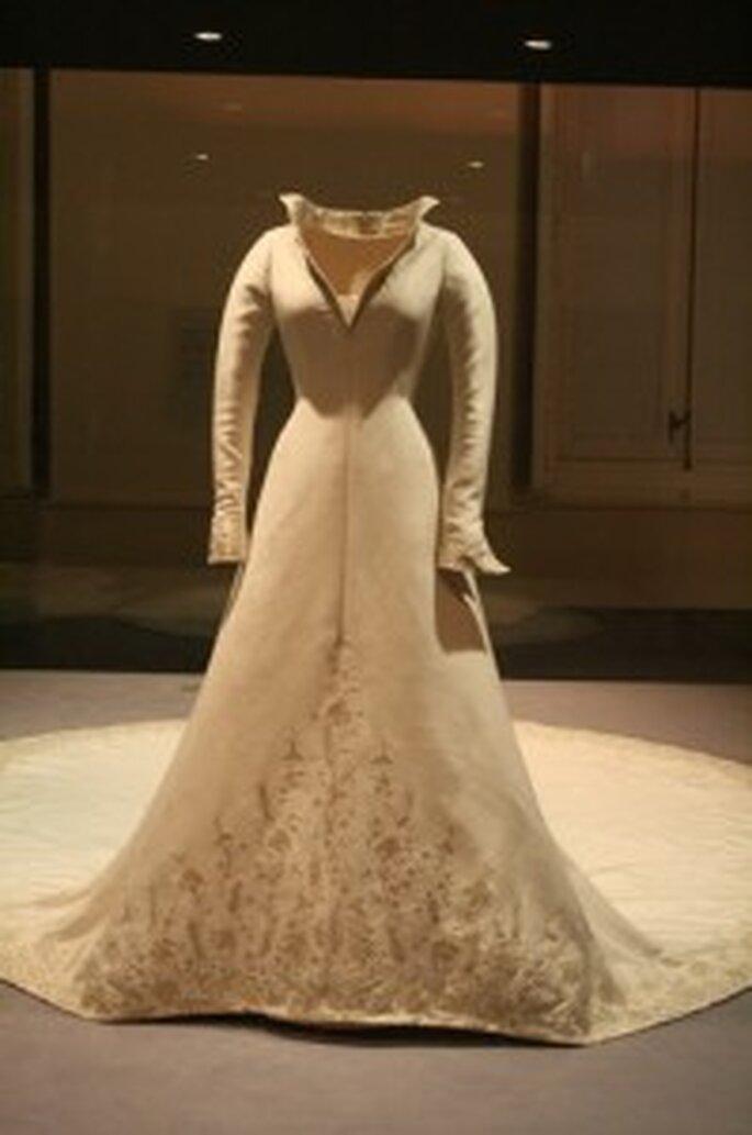 Vestido de novia de Doña Letizia - Pertegaz