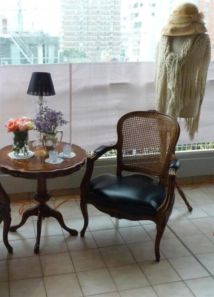 Decoración inspirada en María Antonieta - Texto y fotos: El Marques Deco