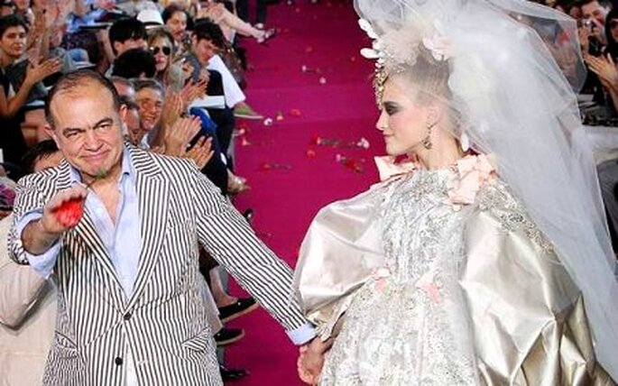 Colección de vestidos de novia Christian Lacroix 2010