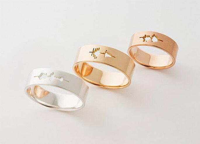 тиффани золото кольца