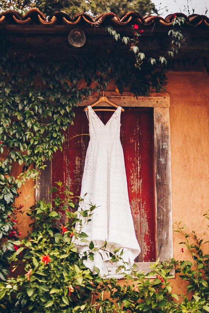 Vestido da noiva: Casamarela Noivas - Fotografia: Beach Style Weddings