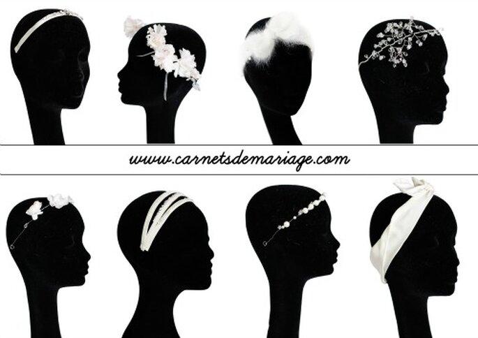 Accessoires pour sublimer votre coiffure de mariage 2013