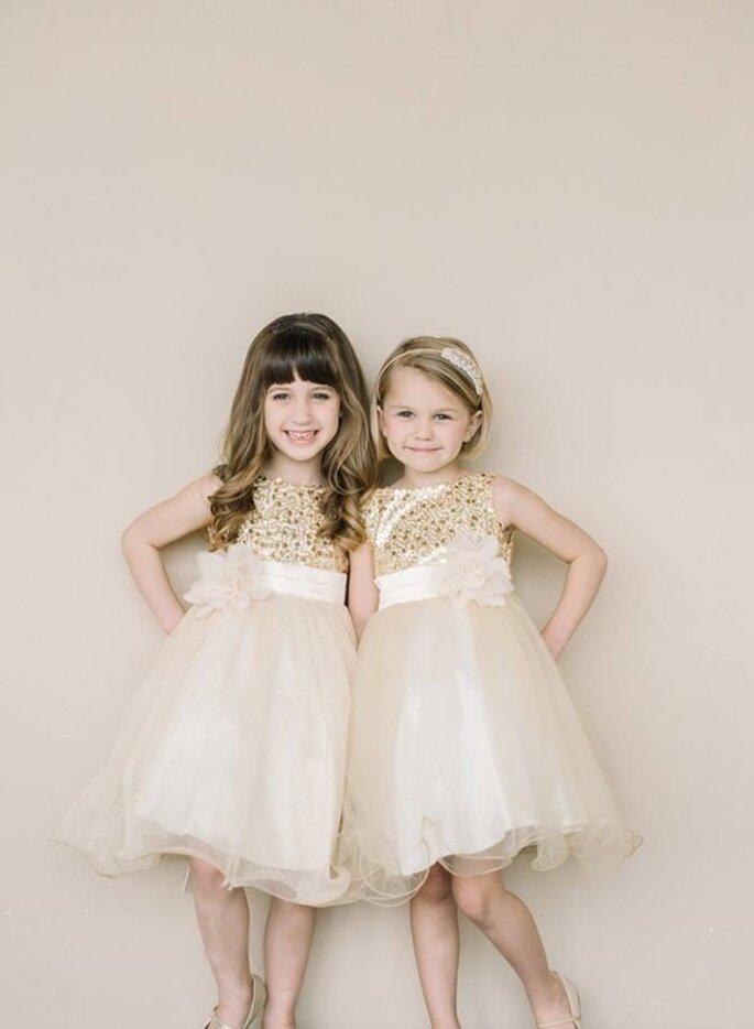 Magia en miniatura: Vestidos encantadores en lindos colores para ...