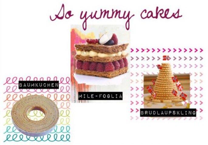 Le tour d'Europe des gâteaux de mariage!