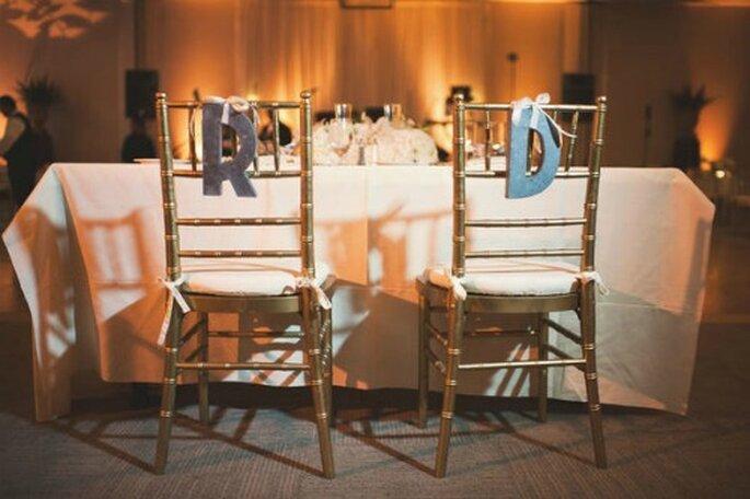 Les chaises, un détail chic ! -Source : Style Me Pretty