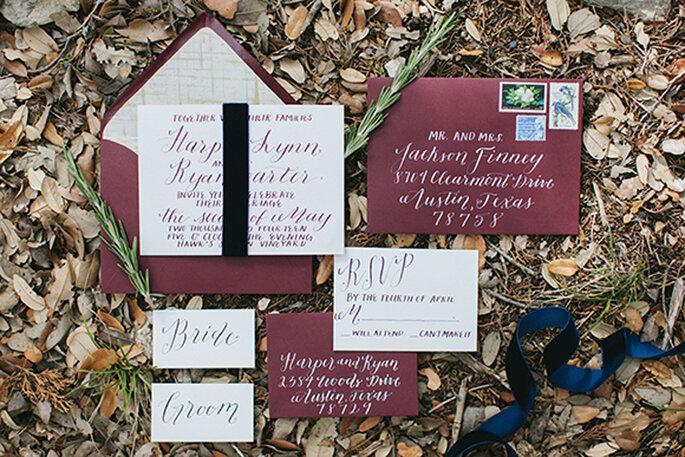 Ideen für eine romantische Herbst-Hochzeit