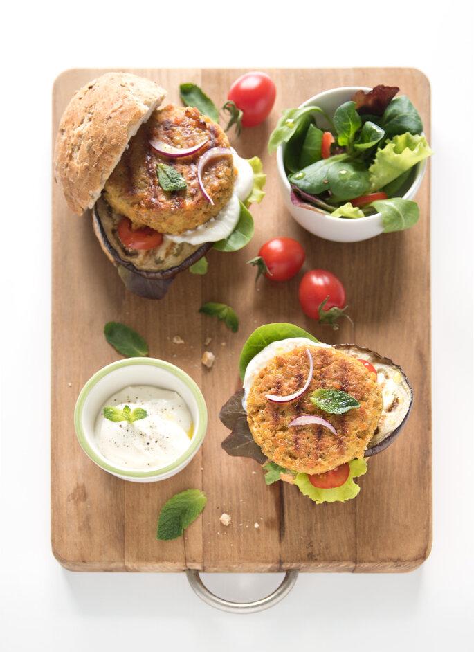 Veggie burger di lenticchie - L'ennesimo blog di cucina