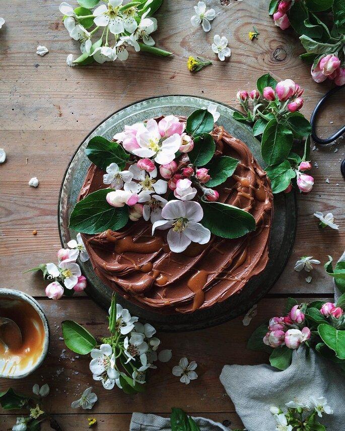 Raw Cakes para casamento
