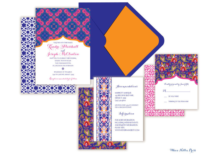 orientalische einladungskarten