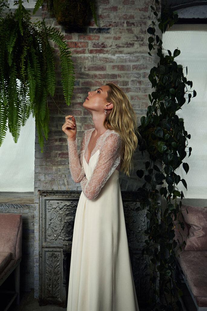Savannah Miller para Stone Fox Bride.
