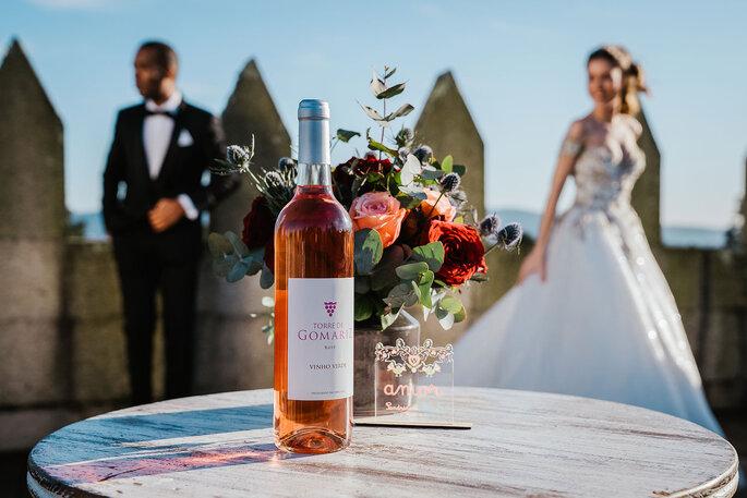 Garrafa de vinho do Visite Torre de Gomariz Wine & Spa Hotel