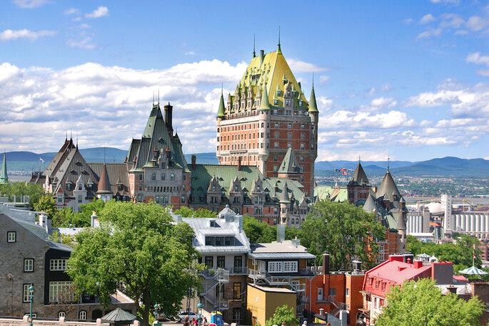 Luna de miel en Canadá (Quebec) - Shutterstock