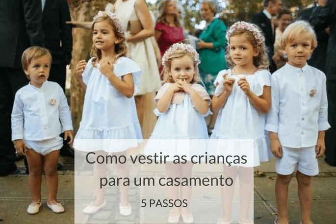138baa2c3b Como vestir as crianças para um casamento em 5 passos