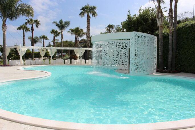 Tenuta Astroni - bordo piscina