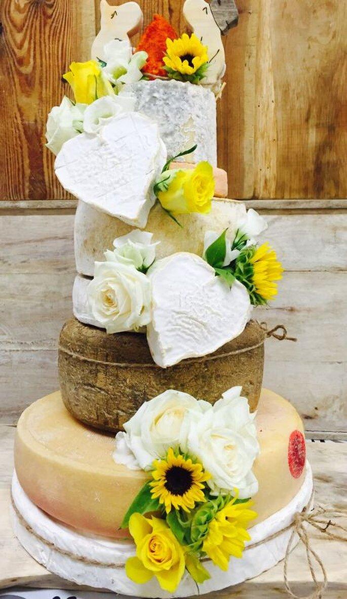 Wedding Cake original fait de fromages !