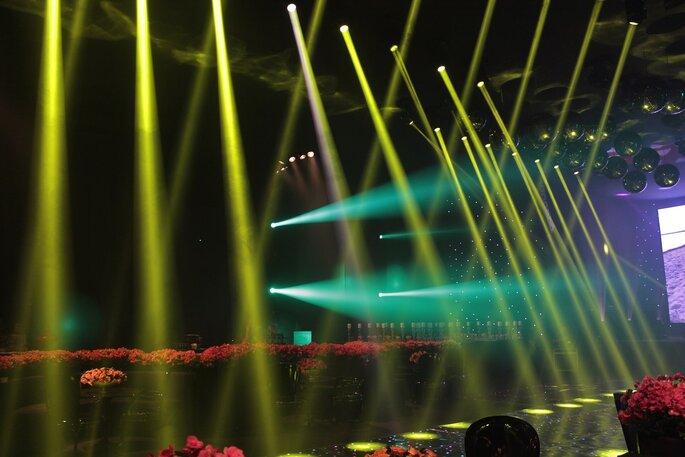 Luz em harmonia com a decoração