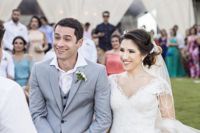 Sorriso noivos