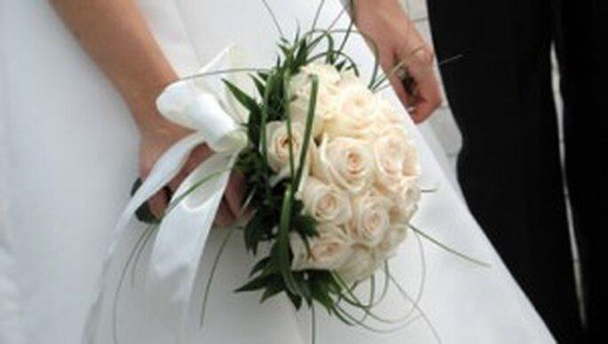 Rosas: Novia romántica
