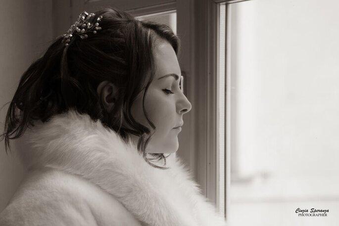 Cinzia Speranza Photographer - sposa in bianco e nero
