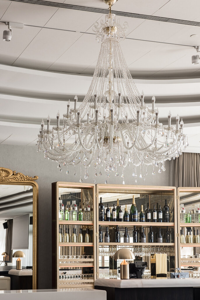 Decoração moderna e elegante do SUD Lisboa Hall