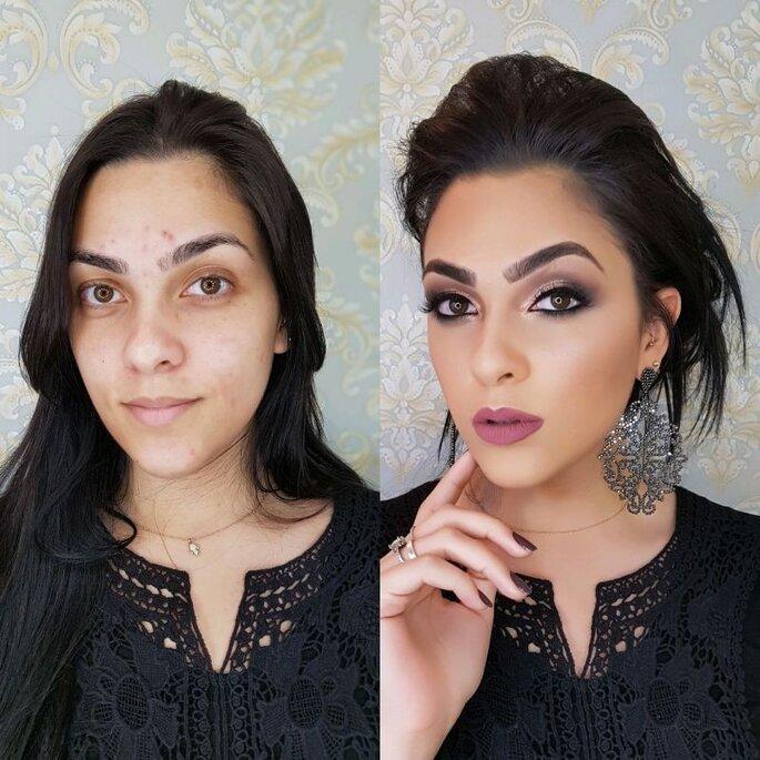 Antes e depois - Studio Bride