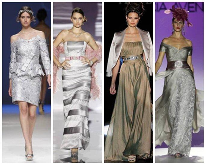 tendencias vestidos de fiesta para invitadas 2013