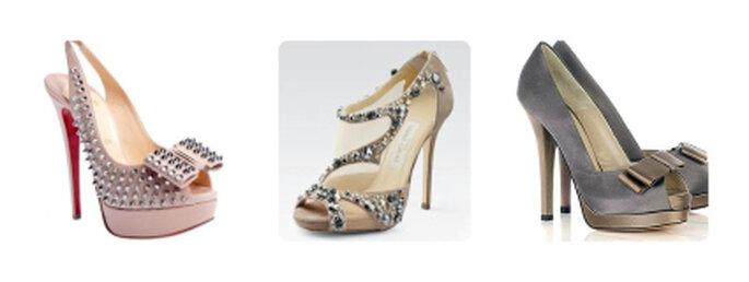 Otorgale un toque distintivo a tus zapatos cubriéndolos con joyería