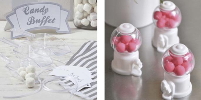 Kit pour candy bar et Mini-distributeurs de bonbons