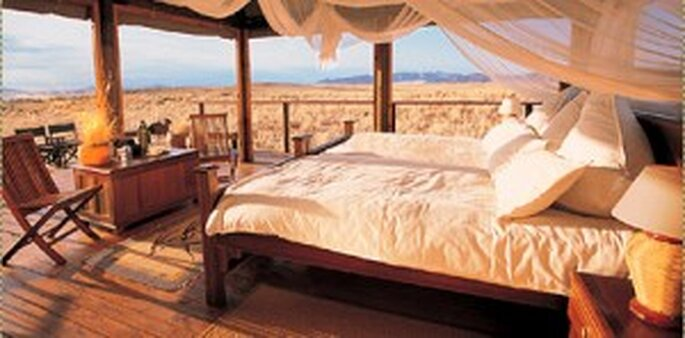 Hochzeitsreise nach Afrika ins Namib Rand Reservat