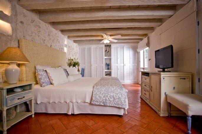 Habitación el Refugio del Conde.  Foto: Hotel Casa Quero