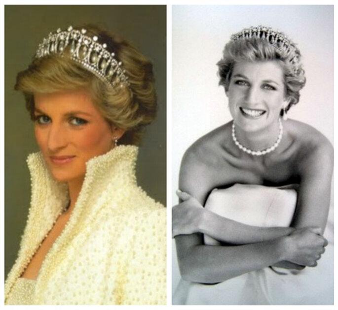 La tiara Nudo de Amor de Cambridge que lucía Diana de Gales