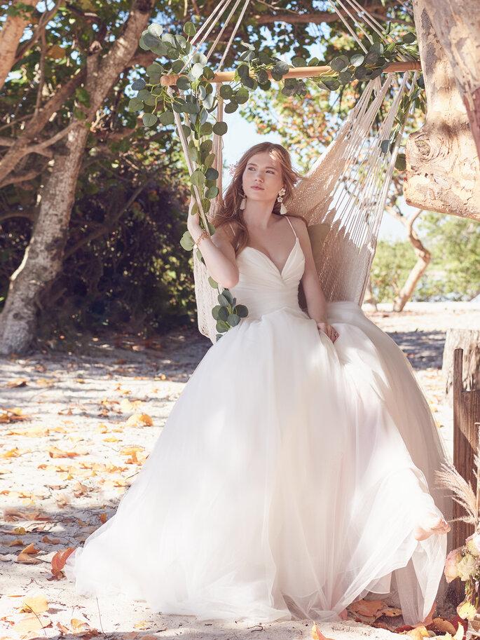 Brautkleider mit voluminösem Rock