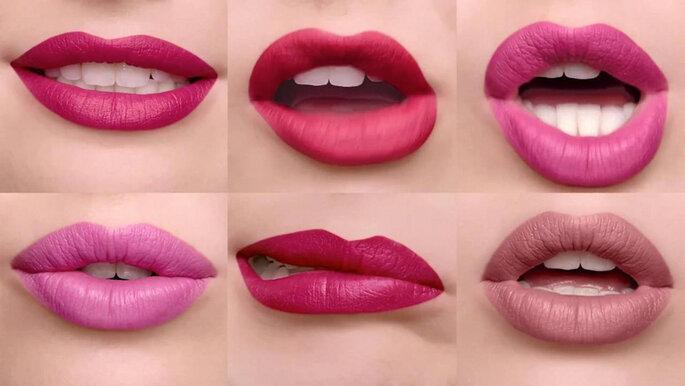 Clinique gama de barras de labios mate