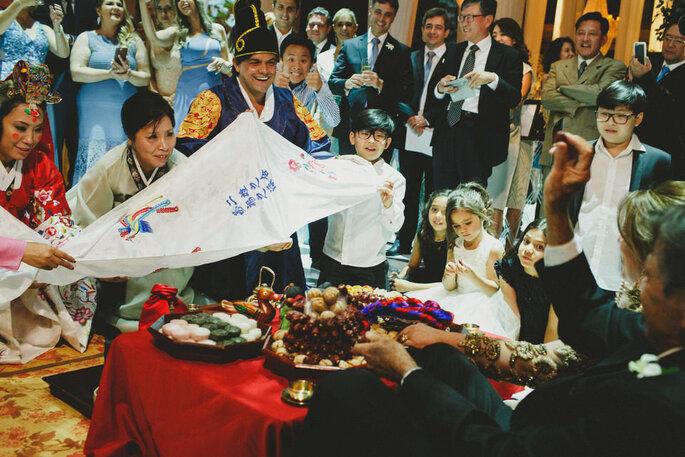 Cerimônia coreana