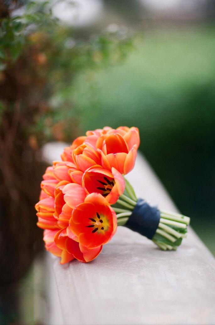 decoración con tulipanes -Elisabeth Millay Photography