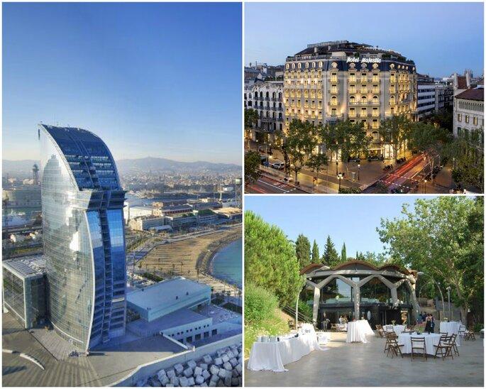 Hotel W Barcelona, Hotel Majestic, Esfèric BCN