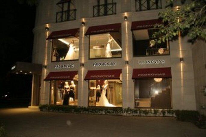 Tienda de Pronovias en la avenida Masaryk, México D.F.