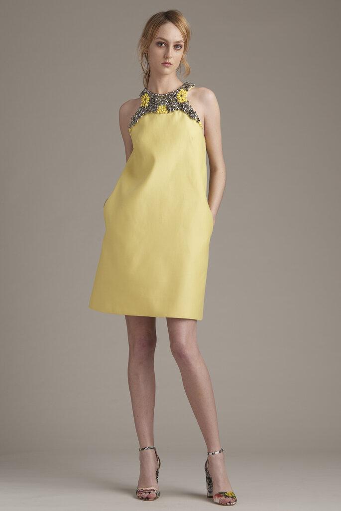 Vestidos de fiesta amarillos